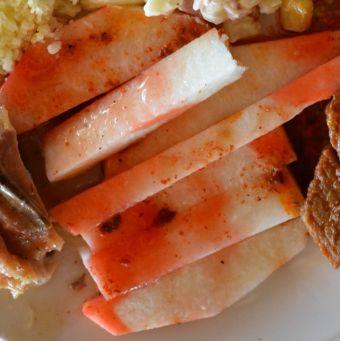 Le pois patate ou jicama (prononcer hecama)