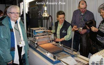 Madame Monique Bilodeau, une employée experte en semences
