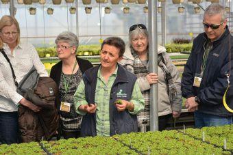 Notre amie Céline Larocque à gauche qui a coordonné l'événement pour notre association.