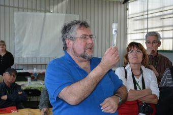 Pierre Hegedus, le responsable de la micropropagation au consortium Pion