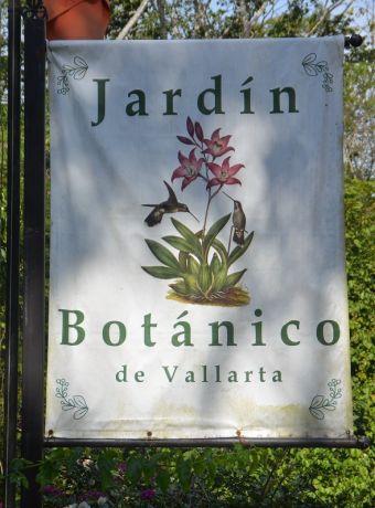 Affiche entrée Jardin Botanique de Vallarta